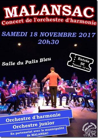 Affiche concert 18 novembre 2017