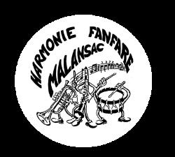 Logo Harmonie Fanfare Malansac Bretagne Orchestre Carnaval Kermesse Musique Groupe Animation
