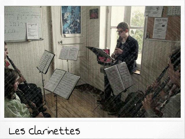 Les Clarinettes