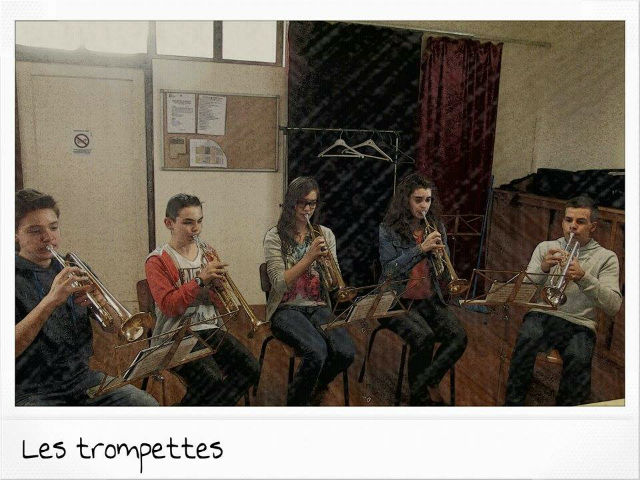Les trompettes