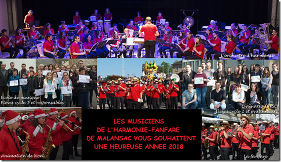 Harmonie Fanfare de Malansac - Voeux 2018